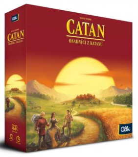 Desková hra Osadníci z Katanu (nová verze), ALBI