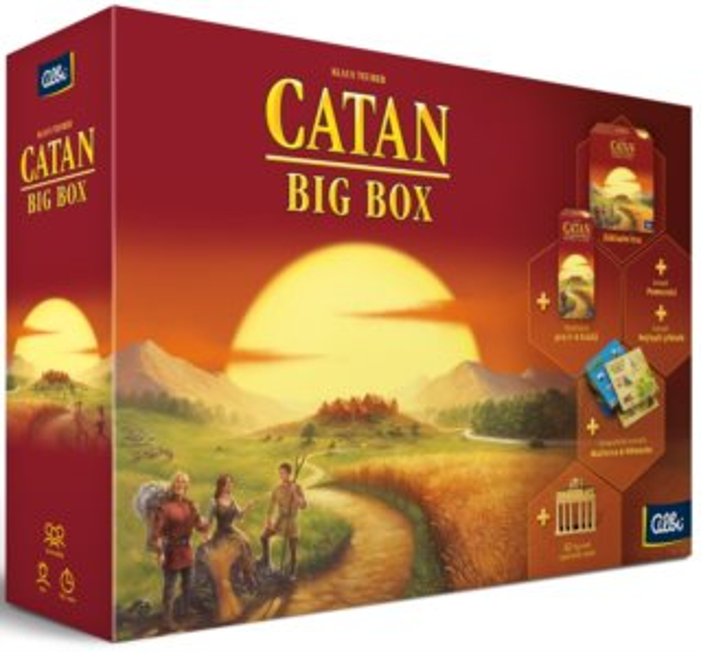 ALBI Desková hra Osadníci z Katanu - Big box