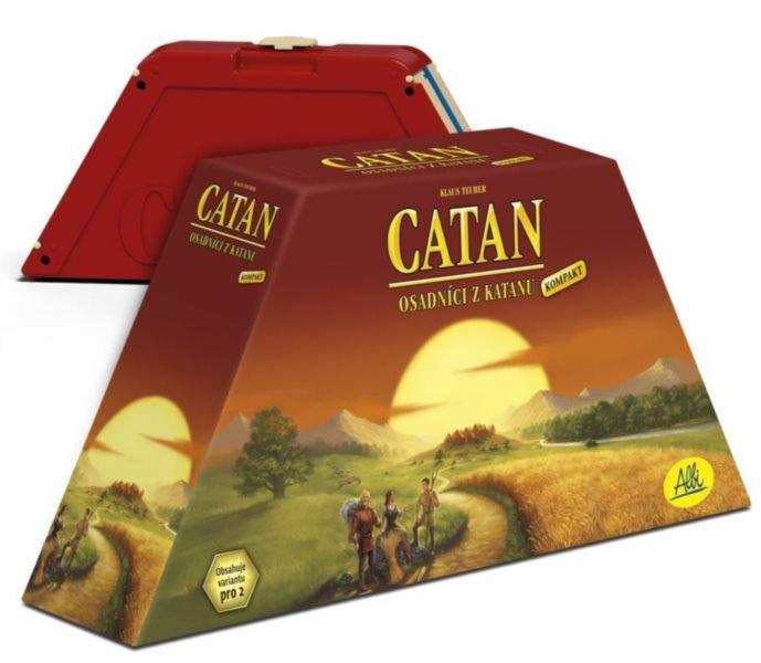 Desková hra Osadníci z Katanu kompakt (cestovní verze), ALBI