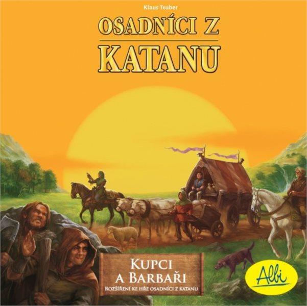 Desková hra Osadníci z Katanu: Kupci a barbaři (rozšíření), ALBI