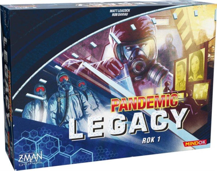 Pandemic: Legacy - Rok 1 (modrá krabice)