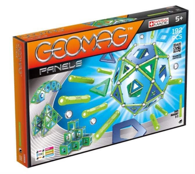 Magnetická stavebnice GEOMAG - Panels 192 dílků
