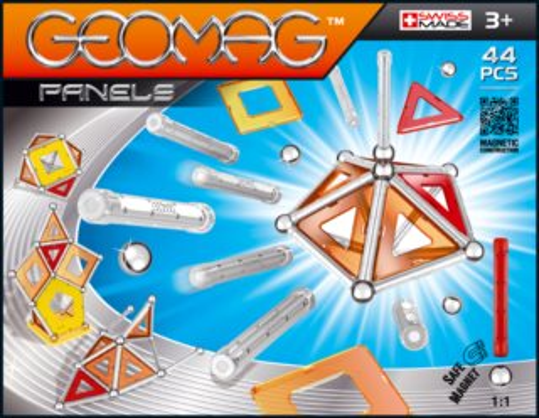 Magnetická stavebnice GEOMAG - Kids Panels 44 dílků