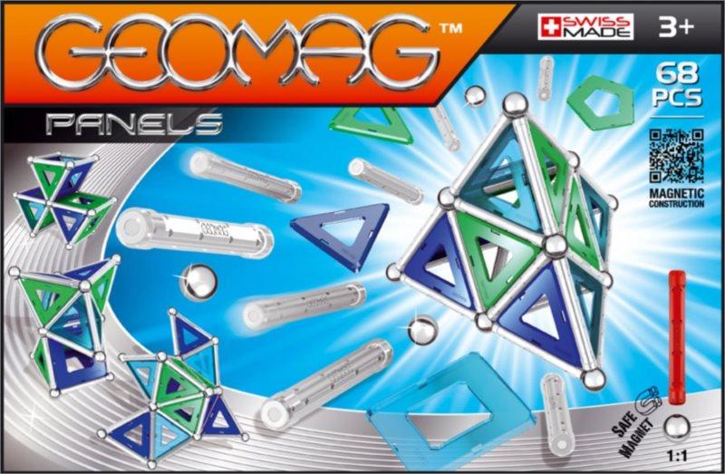 Magnetická stavebnice GEOMAG - Kids Panels 68 dílků