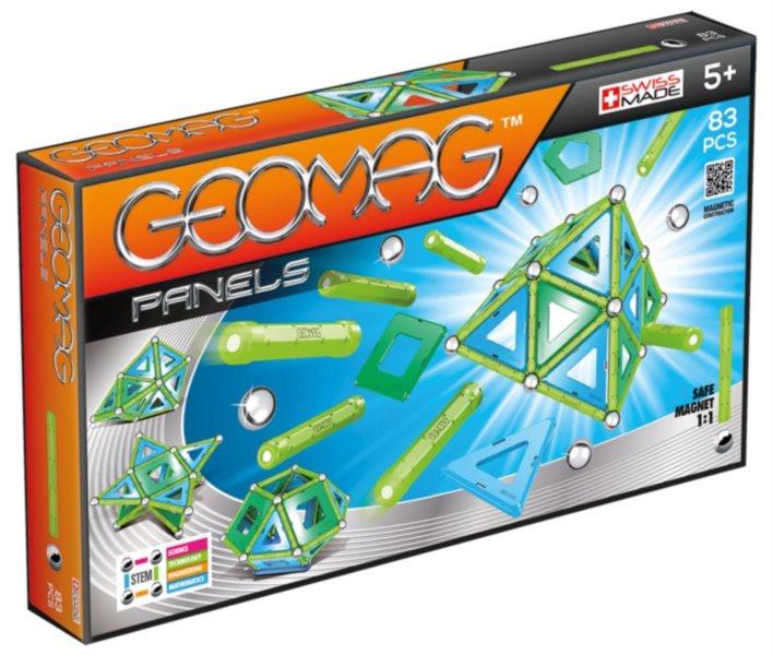 Magnetická stavebnice GEOMAG - Panels 83 dílků