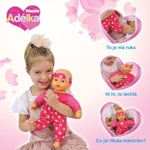 Panenka Adélka - seznamuje děti s částmi lidského těla