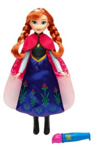 Panenka Anna s vybarvovací sukní