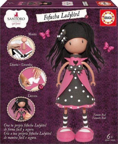 Panenka Fofucha Santoro - Ladybird, EDUCA