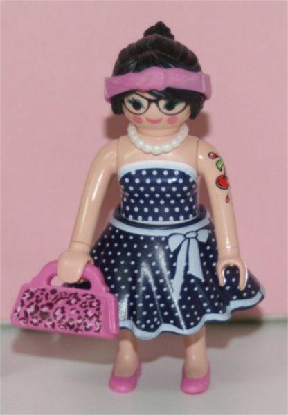 Playmobil 9333 Figurky pro holky - Paní na nákupu (série 13)