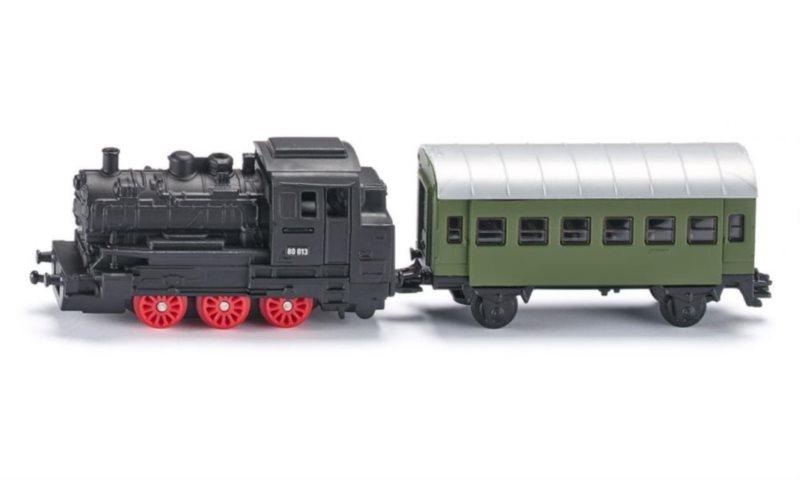 SIKU 1657 Parní lokomotiva s vagónem (1:120)