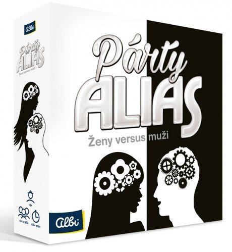 Zábavná hra Párty Alias Ženy versus muži, ALBI