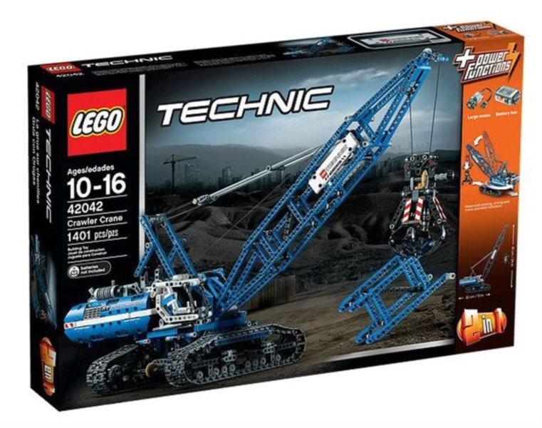 Stavebnice LEGO® Technic 42042 Pásový jeřáb