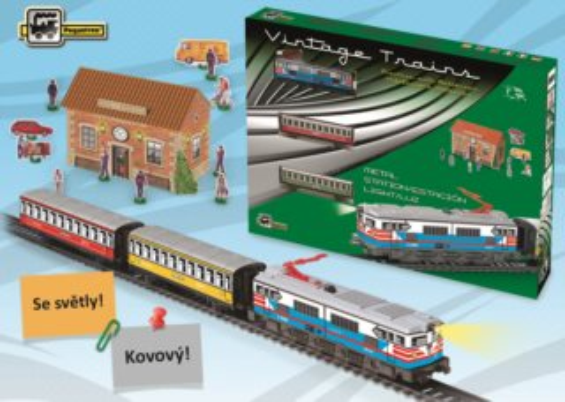 Historický osobní vlak Passengers Train