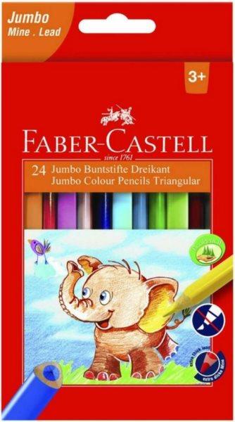Faber-Castell Pastelky Extra Jumbo 12ks
