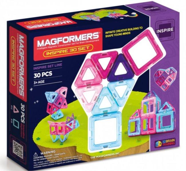 Magnetická stavebnice MAGFORMERS Pastelle Set