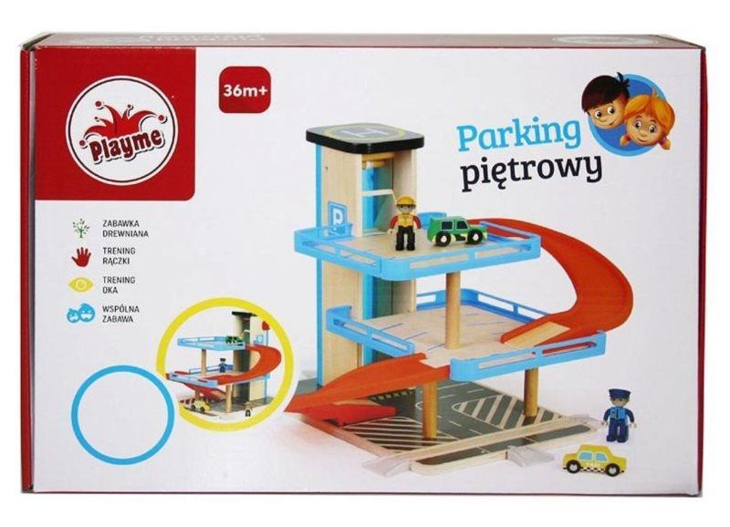 PLAYME , TOP BRIGHT Patrová garáž s výtahem
