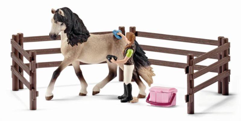 SCHLEICH 42270 Péče o koně Andaluského