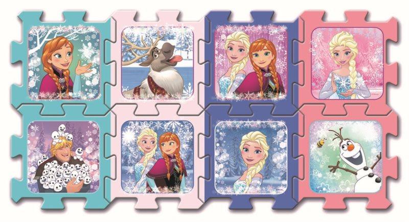 TREFL Pěnové puzzle Ledové království: Přátelé