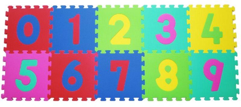 LC Pěnové puzzle silné Číslice (30x30)