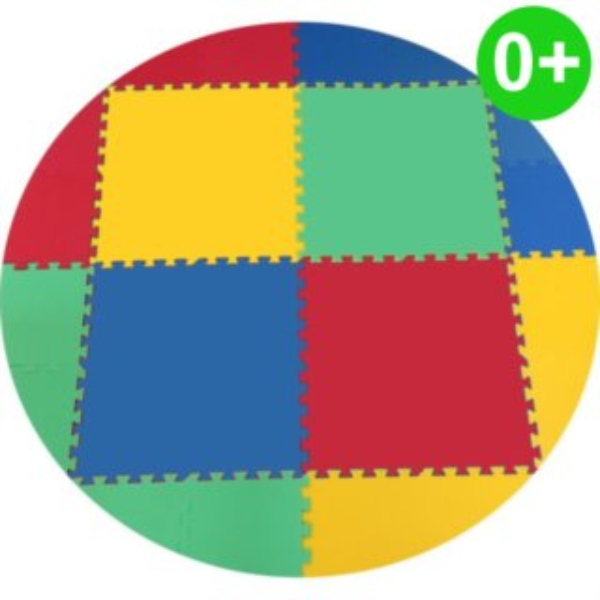 MALÝ GÉNIUS Pěnový koberec KOLOMAT silný 0+