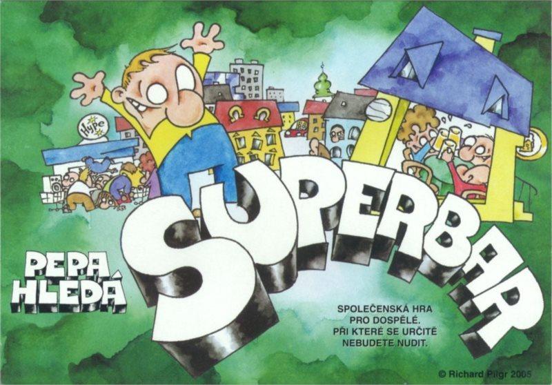 Společenská hra Pepa hledá Superbar