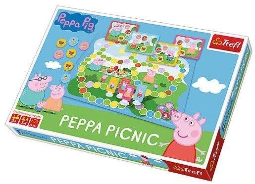 Prasátko Peppa na pikniku