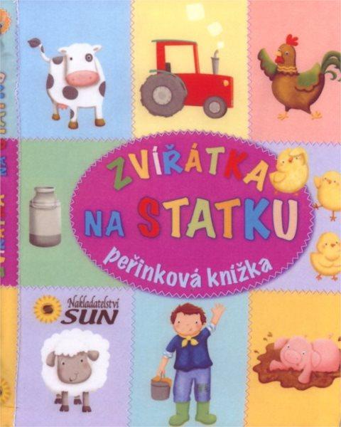 Peřinková knížka Zvířátka na statku