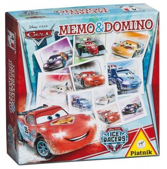 Pexeso a Domino PIATNIK 736698 Auta