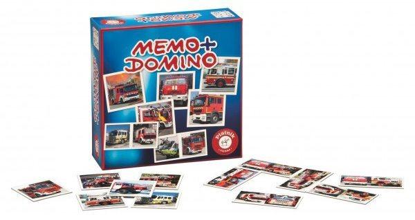 Pexeso a Domino - Hasičská auta