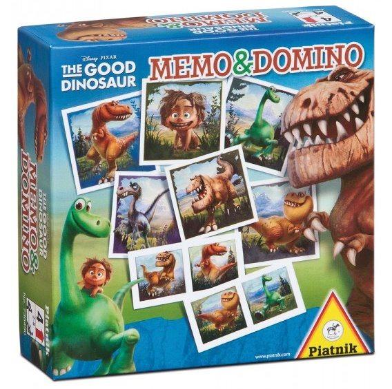 Pexeso a Domino PIATNIK 736490 Hodný dinosaurus