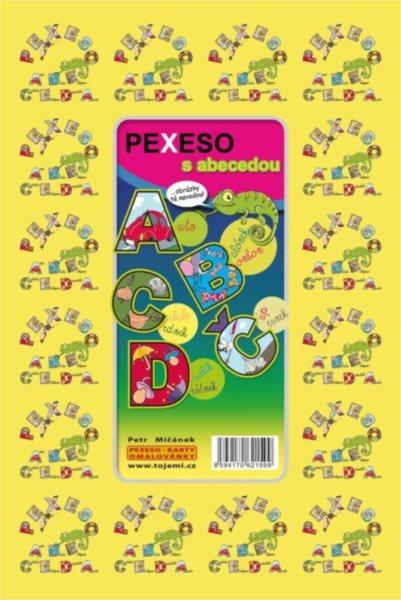 Rodinná hra Pexeso ABECEDA s obrázky