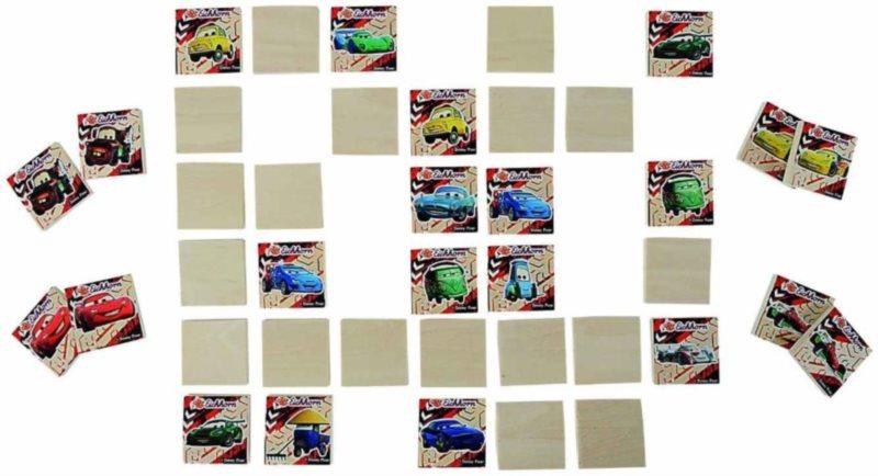 Dětské dřevěné pexeso Auta (Cars) - EICHHORN