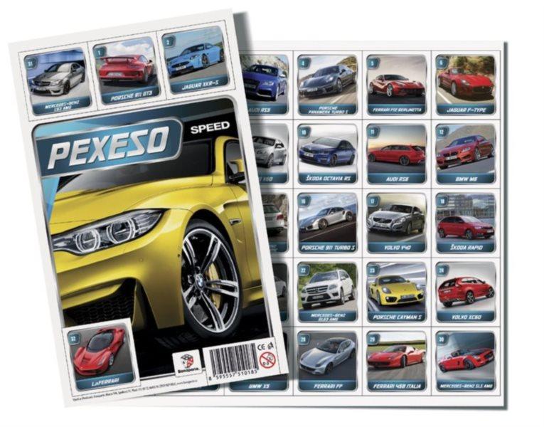 Pexeso - AUTO Speed