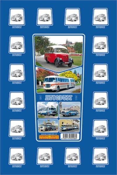 Rodinná hra Pexeso: Autobusy 1947 - 2015