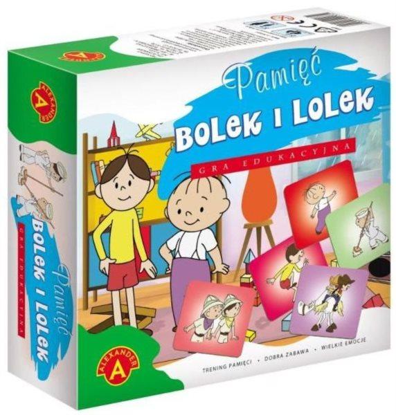 Dětské pexeso Bolek a Lolek - 20 dvojic ALEXANDER 611