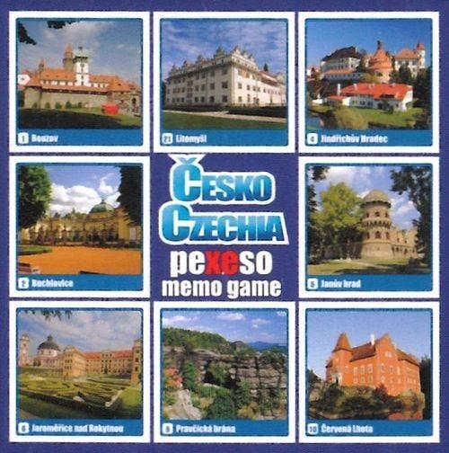Rodinná hra Pexeso: Česko