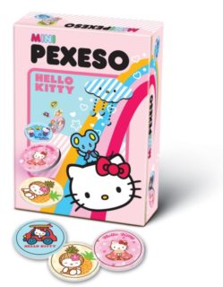 Mini Pexeso - Hello Kitty, BONAPARTE