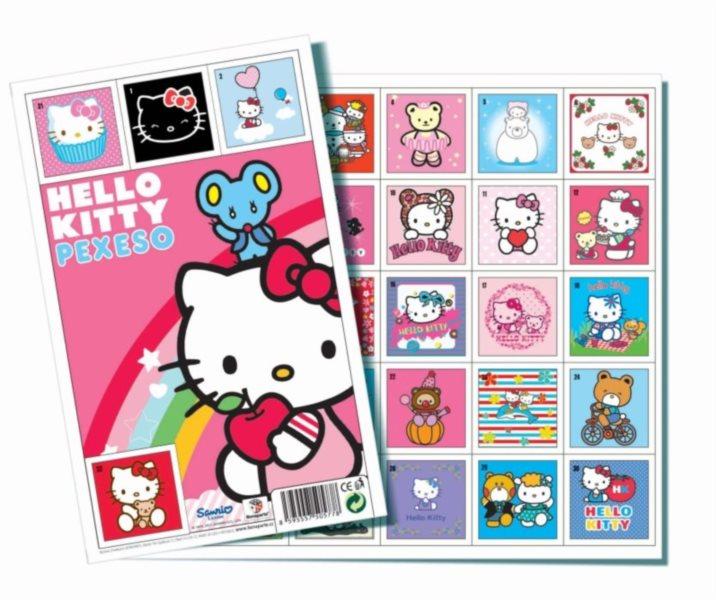 Pexeso - Hello Kitty