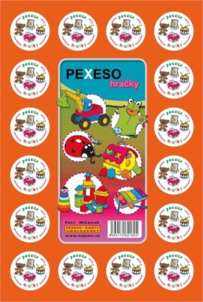 Rodinná hra Pexeso: Hračky