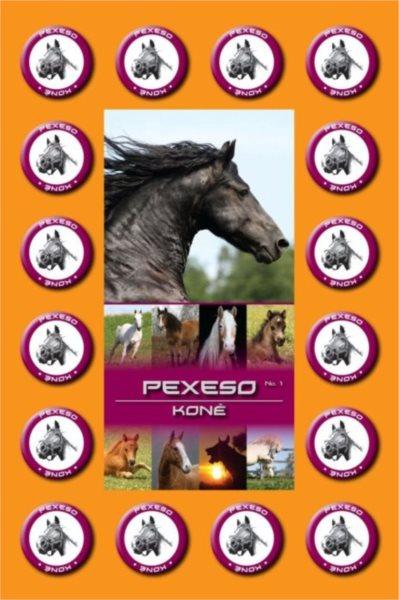 Rodinná hra Pexeso: Koně