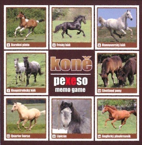 Pexeso: Koně