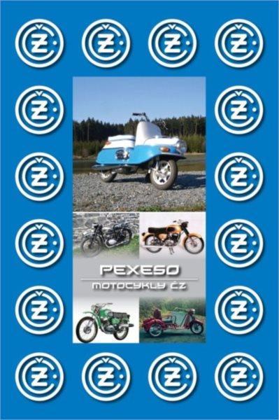 Rodinná hra Pexeso: Motocykly ČZ
