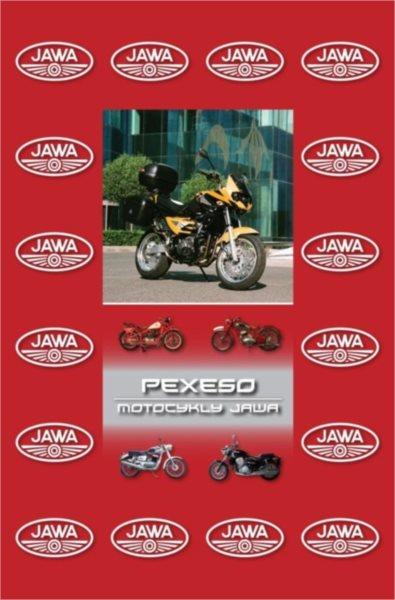 Rodinná hra Pexeso: Motocykly JAWA
