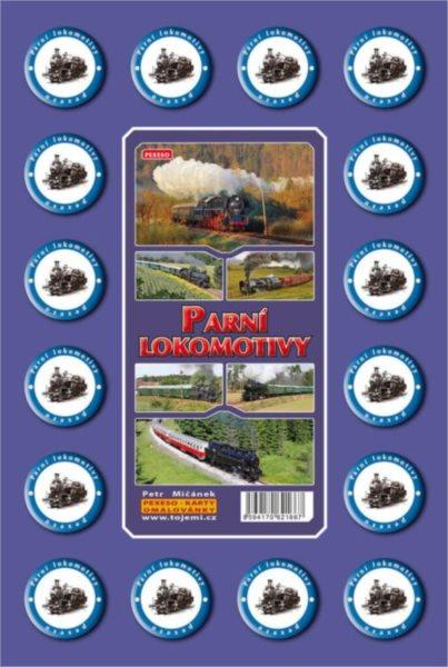 Rodinná hra Pexeso: Parní lokomotivy