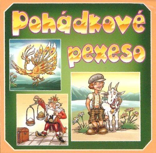Rodinná hra Pexeso: Pohádky