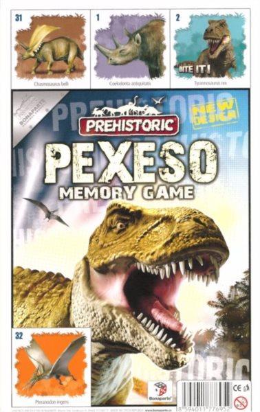 Pexeso - Prehistoric, BONAPARTE