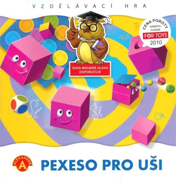 Dětská hra Pexeso pro uši
