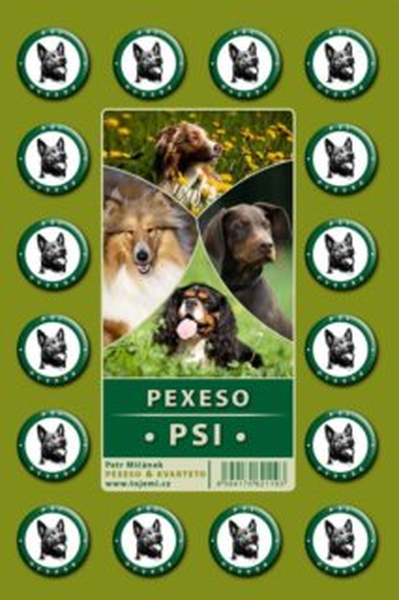 Rodinná hra Pexeso: Psi