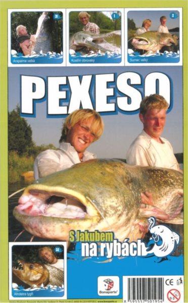 Pexeso - S Jakubem na rybách