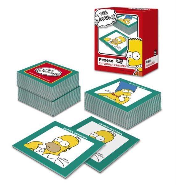 Dětské pexeso, 52 kartiček - The Simpsons, EFKO